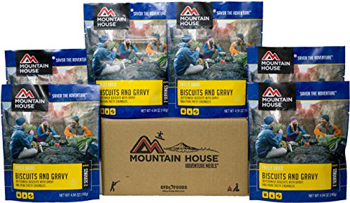 Mountain House Biscuits & Gravy Premium Case Pack