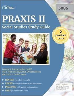 Book Praxis II Social Studies Study Guide: Content and Interpretation (5086) Test Prep and Practice Questions for the Praxis II (5086) Exam by Praxis II Social Studies Exam Prep Team (2016-03-08)