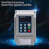 YaeTek 1500W 220V Variable Frequency Drive Inverter VFD for Spindle Motor Speed Control