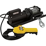 Ironton 120 Volt AC Powered Electric Utility Winch — 1500-Lb. Capacity, Galvanized Steel Aircraft Wire Rope