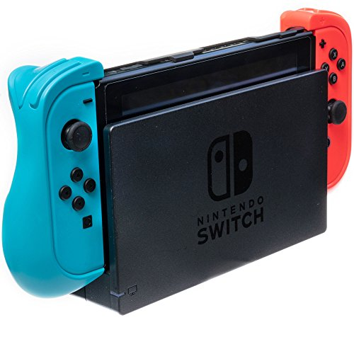 ButterFox ButterFox Dockable Trigger Grip Case Compatible with Nintendo Switch - Blue/Red price tips cheap