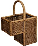 Stair Storage Basket with Carry Handle–Free Shipping Within de Vintage Braun