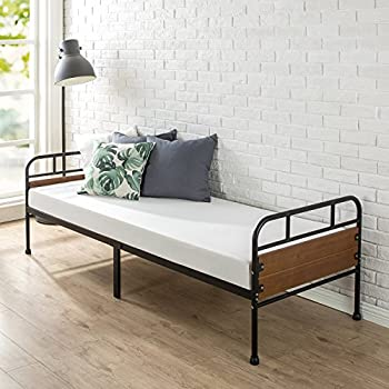 Amazon.com: Zinus Quick Lock 30 Inch Wide Day Bed Frame and Foam ...