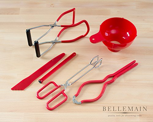 Bellemain 6 Piece Canning Tool Set - Vinyl Coated Stainless Steel by Bellemain (Image #8)