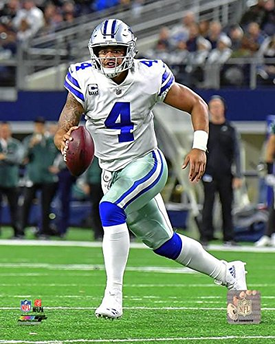amazon com dallas cowboys dak prescott 8x10 photo picture mf