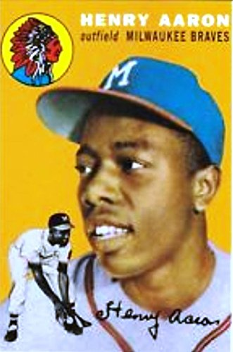 2017 Henry Aaron Greatest Memories Greatest Moments Baseball Card