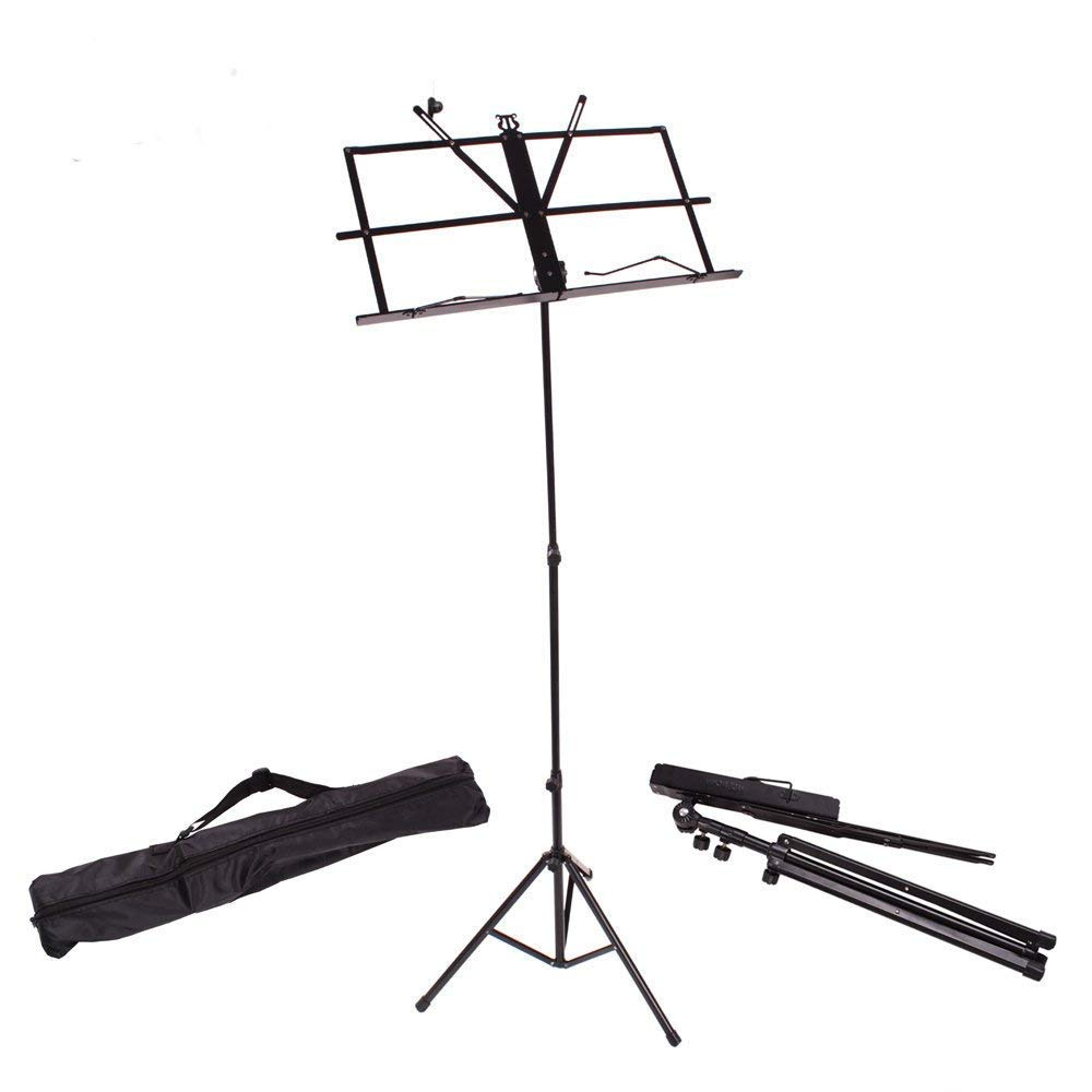 Office & School Supplies Folding Tabletop Music Stand Abs Sheet Music Holder Applicable For Guitar Piano Violin Universal Musical Instrument