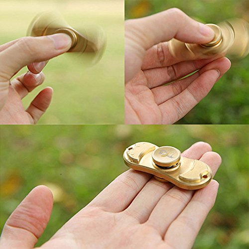 Hommate Finger Spinner Fidget Spinner Toy for EDC ADHD Focus,High Speed,2-3 Min Spins, Finger Playing or Table Top Spin,Optimized Super Smooth German Bearings,Good Balanced