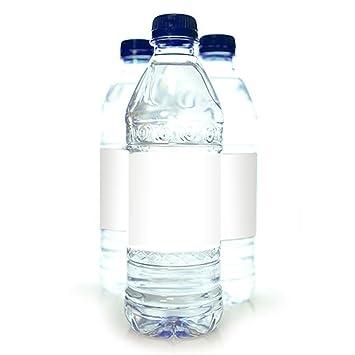 Amazoncom 25 Printable Water Resistant White Water Bottle Labels - Printable-water-bottle-labels