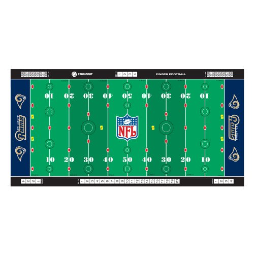 - NFL St. Louis Rams Finger Football Game Mat