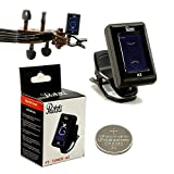 High Quality Paititi Clip-on Electronic Digital Guitar Bass Violin Ukulele Tuner