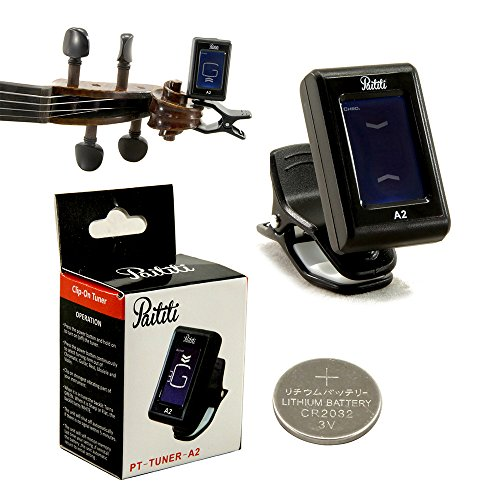 Paititi Clip-on Electronic Digital Guitar Bass Violin