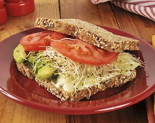 Organic Alfalfa Sprouting Seeds, 10 Pounds - Non-GMO, Kosher, Raw, Vegan, Bulk by Food to Live (Image #5)