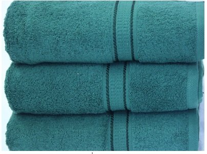 Egyptian Cotton Luxury Bathroom Towels 640 gsm Face Cloth 30x30 cm approx Dark Green Skippys