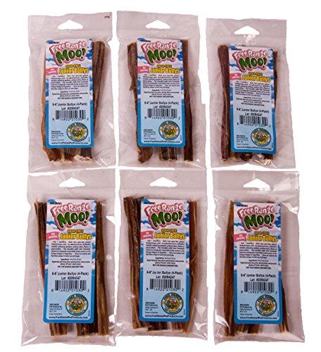 upc 879349002743 free range moo 6 inch junior bully sticks 24 pack. Black Bedroom Furniture Sets. Home Design Ideas