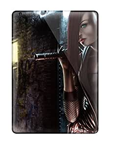 New Cute Funny Women Warrior Case Cover/ Ipad Air Case Cover