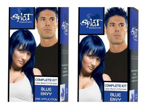 Splat Rebellious Colors Hair Coloring Kit - Blue Envy (Set of 2) by Splat by Splat