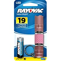 Rayovac Value Bright 19 Lumen 1AA LED Pocket Flashlight (VBMET-B) by Rayovac