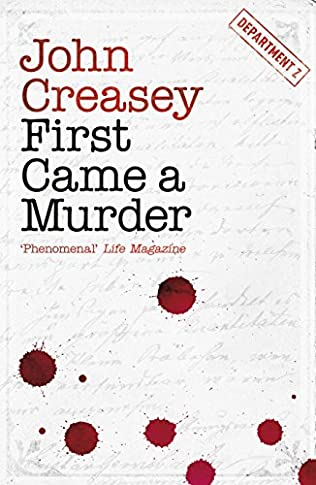book cover of First Came a Murder