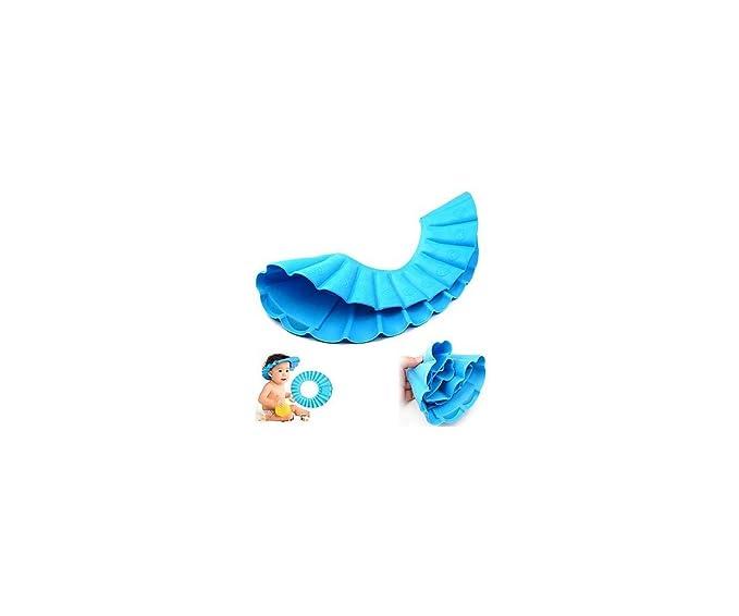 Cuarto de baño IMBS para jugar en la bañera de champú o sombrero diseño de gorro de - ajustable para que niños de escudo de pelo para los niños colada o ...