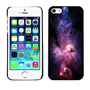 SHIMIN CAO- Dise?o Caso duro de la cubierta Shell protector FOR Apple iPhone 5 5S- Space Night Nebula