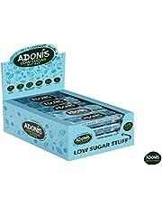 Adonis Low Sugar Nut Bar - Barre aux Amandes et à la Vanille Sans Sucres Ajoutés | 100% Naturelle, Faible teneur en Sucre et Glucides, Sans Gluten, Vegan, Keto, Paleo, Superfood