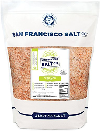 Chili Lime Sea Salt - 2 lb. - Mexican Sea Salt