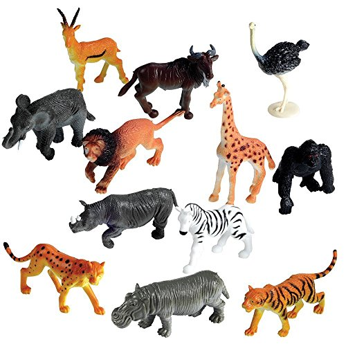 6 SAFARI ANIMALS Bath Bomb For Kids With Surprise Toys Inside (SAFARI...