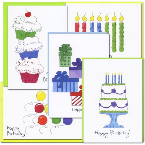 color-sketch-i-birthday-card-assortment-2-each-of-5-different-designs-box-of-10-cards-12-envelopes