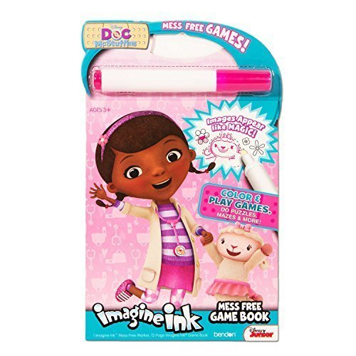 Disney Doc Mcstuffins Imagine Ink Coloring Book Includes Mess Free