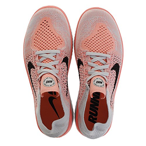 Free Nike Platinum Damen Run Flyknit 2018 Crimson Laufschuh pure Pulse Black yRy1rcE
