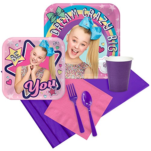 BirthdayExpress JoJo Siwa Party Supplies Party Pack for 8]()