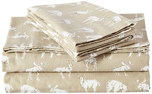 Eddie Bauer Buckhead Ridge Flannel Sheet Set Full - Flannel Target Sheets