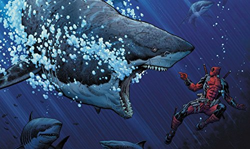 Deadpool Shark Playmat 24 x 14 inch by RFG REMOVE FROM GAME