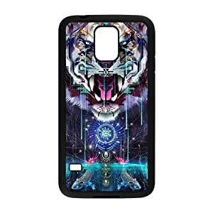 Tiger The Unique Printing Art Custom Phone Case for SamSung Galaxy S5 I9600,diy cover case ygtg538319
