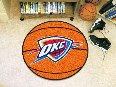 Fan Mats Oklahoma City Thunder Basketball Mat, 29