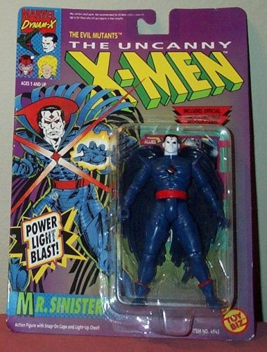 The Uncanny X-Men Mr. Sinister with Power Light Blast Action Figure