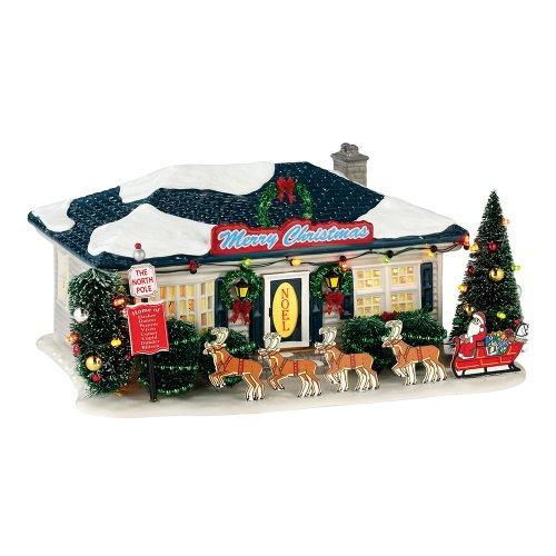 Department 56 Snow Village Season's Greetings Lit House, 5.31 inch (Greetings Snow)