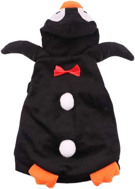 Balacoo Halloween Disfraz De Mascota De Pingüino Perro Gato Ropa ...