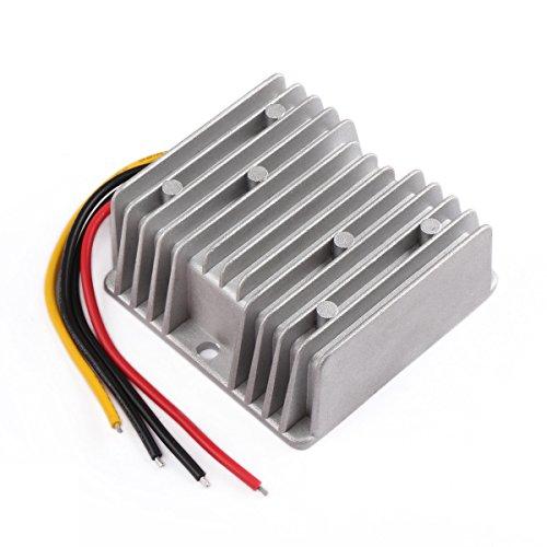 DROK 10A Step Down Rectifier Regulator Synchronous Buck Converter 10-35V 12V/24V to 7V DC Solid Durable Power Supply Module