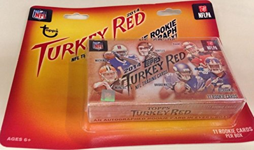 2014 topps turkey red football