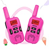 UOKOO Walkie Talkies for Kids, Kids Walkie Talkies 22 Channel FRS/GMRS Two Way Radio Up to 3KM UHF Mini Walkie Talkies, Toys for 5-year Old Boys, Christmas Gifts for 5,6,7 8-year Old Boys and Girls