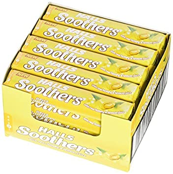 Amazon.com: HALLS 45 g miel y limón caramelos chupetes – por ...