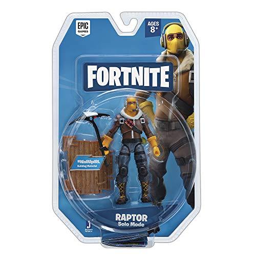 Fortnite Solo Mode Core Figure Pack, Raptor