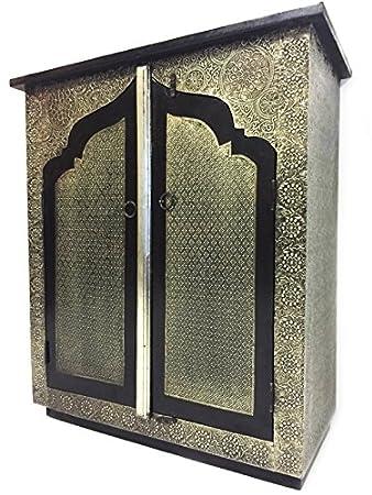 Orientalische Kommode orientalische kommode konsole talah silberfarbig amazon de
