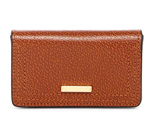Lodis Accessories Women's Stephanie Under Lock & Key Mini Card Case Chestnut One Size
