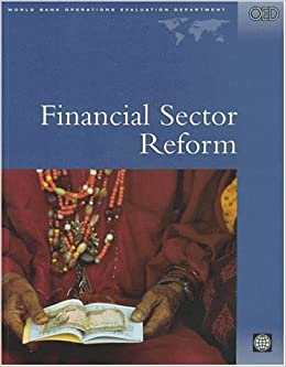 Book Financial Sector Reform: A Review of World Bank Assistance (World Bank Operations Evaluations Study)