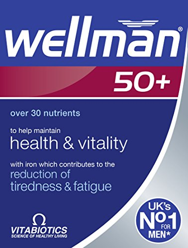 Wellman Vitabiotics 50+ Advanced Vitamin And Mineral Supplement 30 Tablets