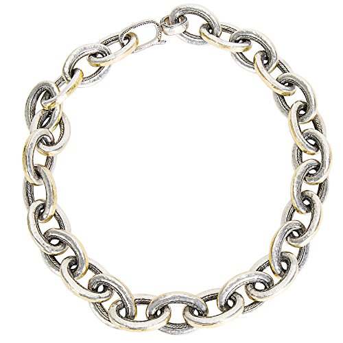 Gemma by WP Diamonds Gurhan Galahad Chain Necklace in Sterling Silver MSRP 8575