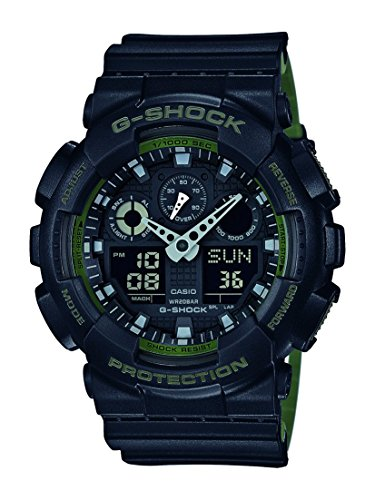 Casio G Shock GA 100L 1AER Multifunction Digital